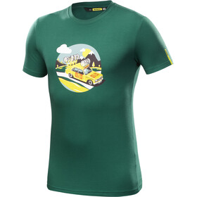 Mavic SSC Yellow Car Tee Men Evergreen